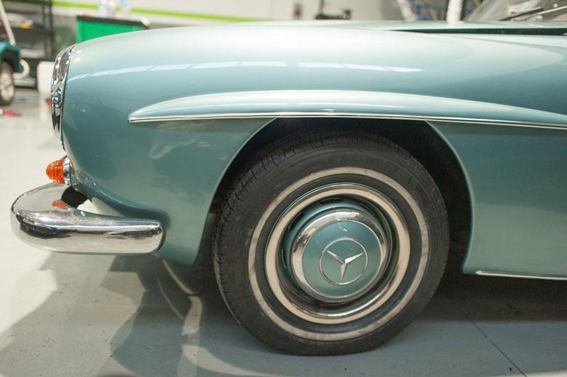 Llanta clásica Mercedes